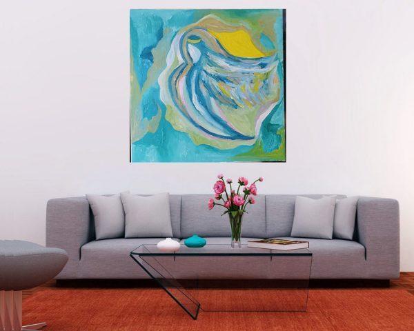 Angel, Painting, Spiritual, fine art