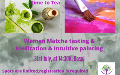 Meditation, Intuitive Painting and Matcha Tasting- Basel- Women Event