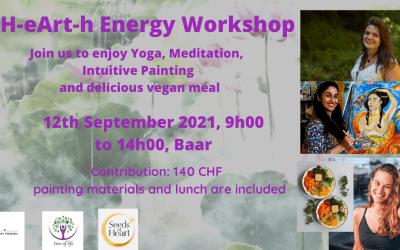 H-eART-h Energy- Woman Workshop Baar